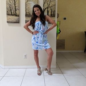 NWOT strapless Lilly Pulitzer dress